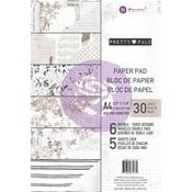 Pretty Pale A4 Paper Pad - Prima - PRE ORDER