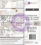 Pretty Pale 6 x 6 Paper Pad - Prima