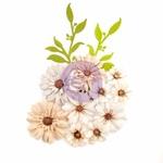 Floral Landscape Flowers - Pretty Pale - Prima