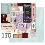 Traveling Tickets Paper - Midnight Garden - Prima