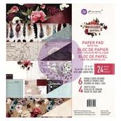 Midnight Garden 12 x 12 Paper Pad - Prima - PRE ORDER