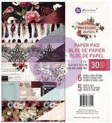 Midnight Garden 6 x 6 Paper Pad - Prima