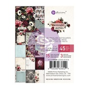 Midnight Garden 3 x 4 Journaling Cards - Prima