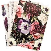 Midnight Garden PTJ Personal Notebook Inserts - Prima