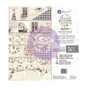 Spring Farmhouse 12 x 12 Paper Pad - Prima - PRE ORDER