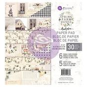 Spring Farmhouse 8 x 8 Paper Pad - Prima