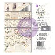 Spring Farmhouse 6 x 6 Paper Pad - PRE ORDER