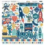 To The Moon And Back Element Stickers - Photoplay