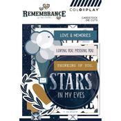 Remembrance Ephemera Cardstock Die-Cuts - Photoplay