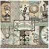 Voyages Fantastiques Paper Pad - Stamperia Intl