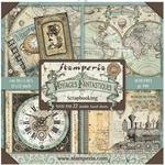 Voyages Fantastiques Maxi Paper Pad - Stamperia