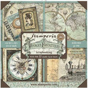 Voyages Fantastiques Maxi Paper Pad - Stamperia - PRE ORDER