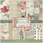 Spring Botanic Paper Pad - Stamperia - PRE ORDER