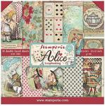 Alice Paper Pad - Stamperia