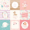 4 X 4 Journaling Card Paper - Hello Baby Girl - Echo Park
