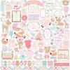 Hello Baby Girl Element Sticker - Echo Park