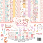 Hello Baby Girl Collection Kit - Echo Park