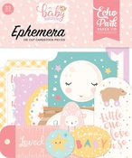 Hello Baby Girl Ephemera - Echo Park