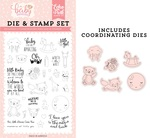 Little Baby Die & Stamp Set - Echo Park