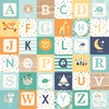 Boy Alphabet Blocks Paper - Hello Baby Boy - Echo Park