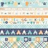 Border Strips Paper - Hello Baby Boy - Echo Park