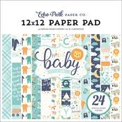 Hello Baby Boy 12 x 12 Paper Pad - Echo Park