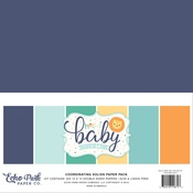 Hello Baby Boy Solids Kit - Echo Park