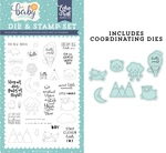 New Arrival Die & Stamp Set - Echo Park