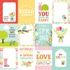 3 X 4 Journaling Card Paper - Spring Fling - Echo Park