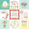 4 X 4 Journaling Card Paper - Spring Fling - Echo Park