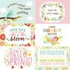4 X 6 Journaling Card Paper - Spring Fling - Echo Park