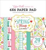 Spring Fling 6 X 6 Paper Pad - Echo Park