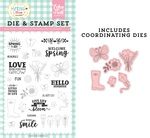 Spring is Here Die & Stamp Set - Echo Park