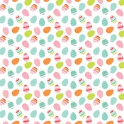 Egg Hunt Paper - Easter Wishes - Echo Park