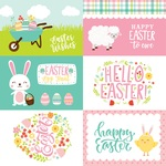 4 X 6 Journaling Card Paper - Easter Wishes - Echo Park