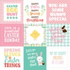 4 X 4 Journaling Card Paper - Easter Wishes - Echo Park