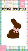 Solid Chocolate Bunny Die Set - Echo Park