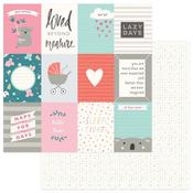 Loved Beyond Measure 3 x 4 Card Paper - Snuggle Up Girl - Photoplay