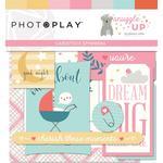 Snuggle Up Girl Ephemera Cardstock Die-Cuts - Photoplay