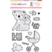 Snuggle Up Girl Clear Stamps - Photoplay