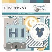 Snuggle Up Boy Ephemera Cardstock Die-Cuts - Photoplay