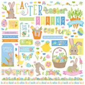 Bunny Trail Element Stickers - Photoplay