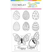 Bunny Trail Color Me Card + Die - Photoplay