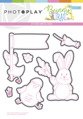 Bunny Trail Element Etched Die - Photoplay
