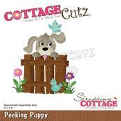 "Peeking Puppy 3""X3.5"" - PRE ORDER"