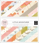 Girl Little Adventurer 6 x 6 Paper Pad - Pink Paislee