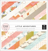 Girl Little Adventurer 6 x 6 Paper Pad - Pink Paislee