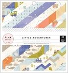 Boy Little Adventurer 6 x 6 Paper Pad - Pink Paislee