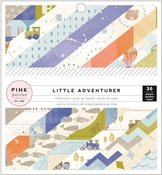 Boy Little Adventurer 6 x 6 Paper Pad - Pink Paislee
