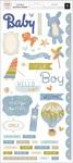 Boy Rose Gold Cardstock Stickers - Little Adventurer - Pink Paislee